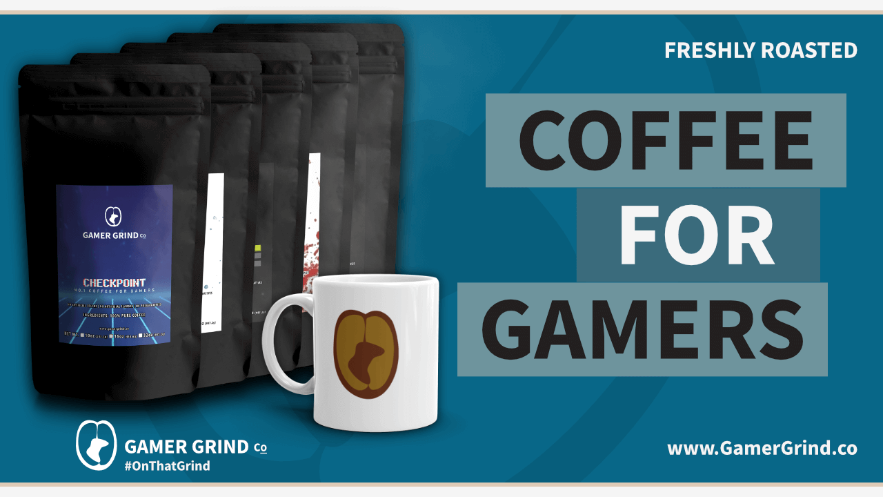 Gamer Grind Co - Coffee for Gamers